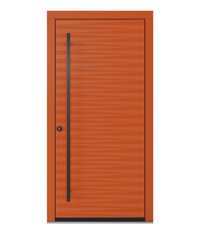 Plieninės lauko durys