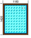 EURO 68 SOFTLINE mediniai langai