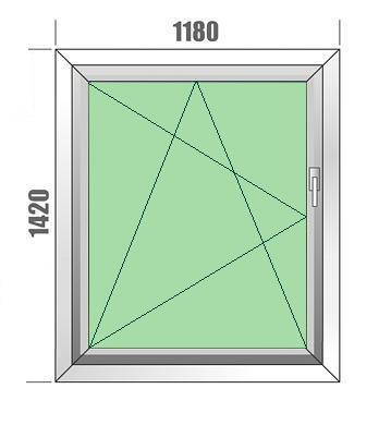 Aluplast IDEAL Plastikinių langų išpardavimas