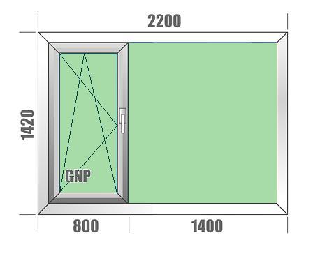 Plastikiniai langai Aluplast IDEAL 7000RL